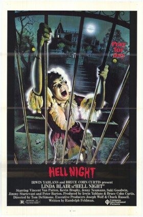 Hell Night 1981 starring Linda Blair