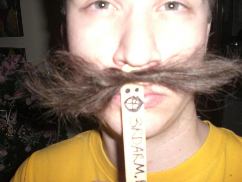 Do you like mustache