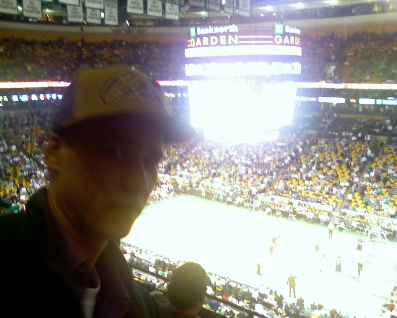 at the Celtics home game 2 versus the Cleveland Cavaliers