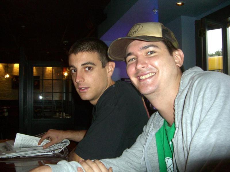 Diamond Dave and Hot Dumpling Tom at Highland Kitchen brunch