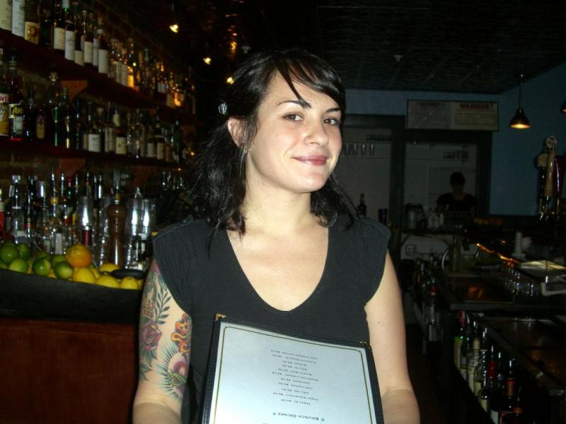 The accused bartender Claudia got touched by my curse