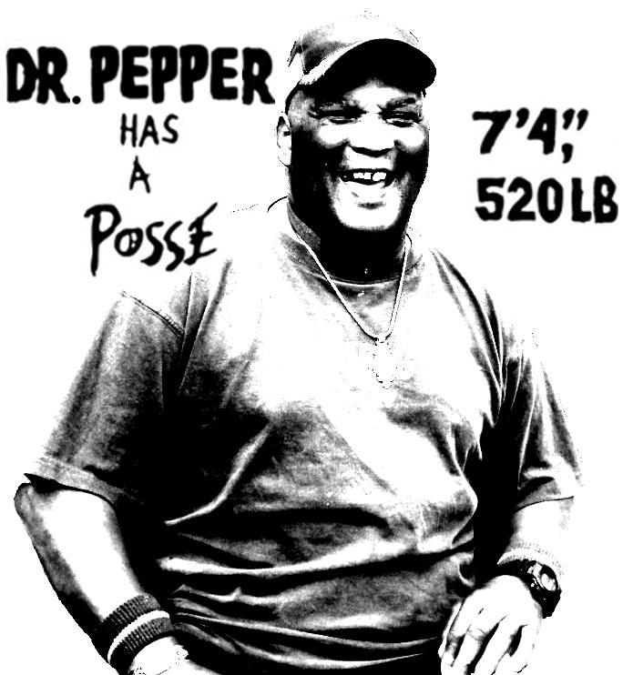 Dr Pepper has a posse