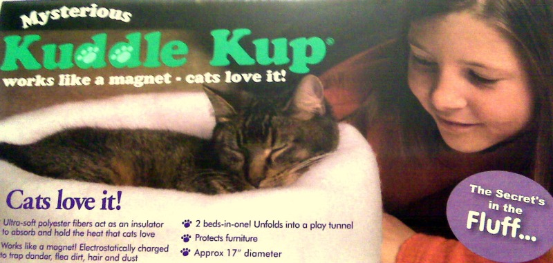 Cats totally dig mysterious kuddle kups