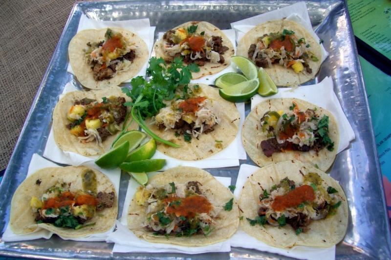 El Salvadorean pork tacos ECG style