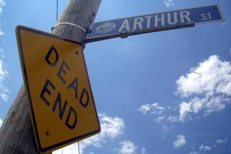 Arthur St Dead End