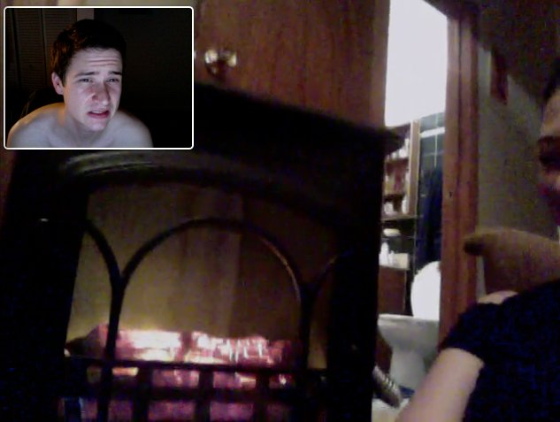 Jealous of a fireplace