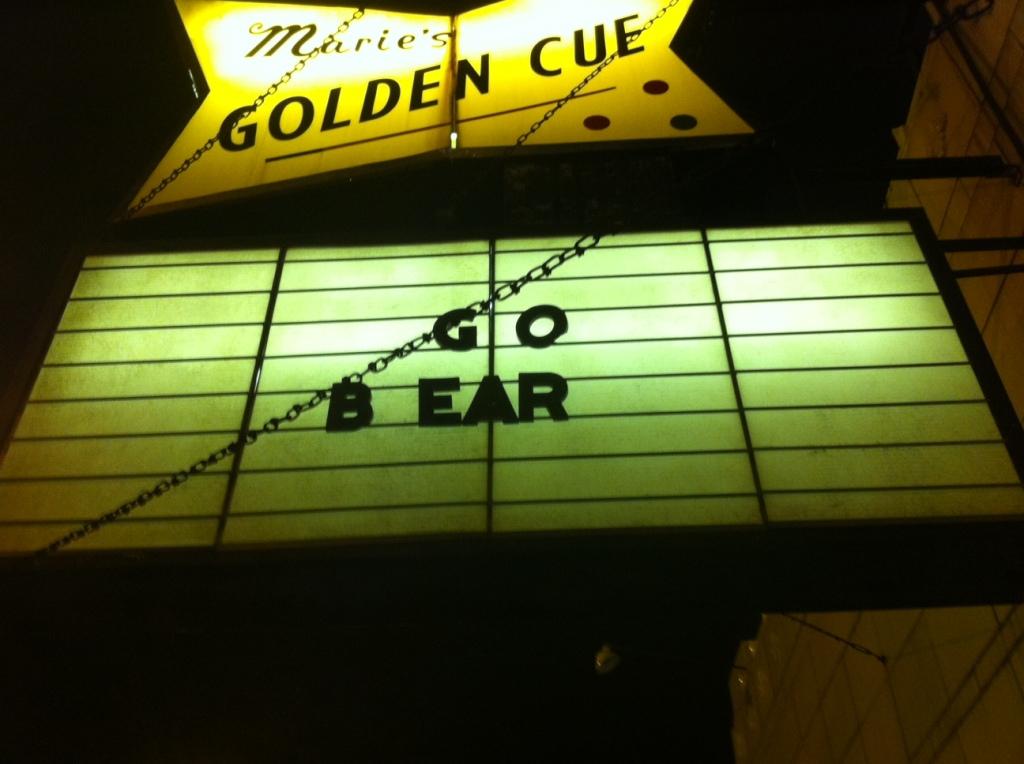 golden cue