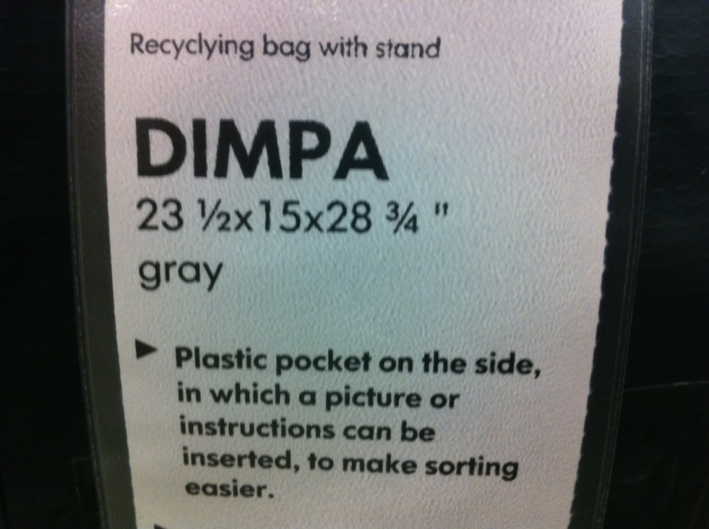 Swedish for dumpa