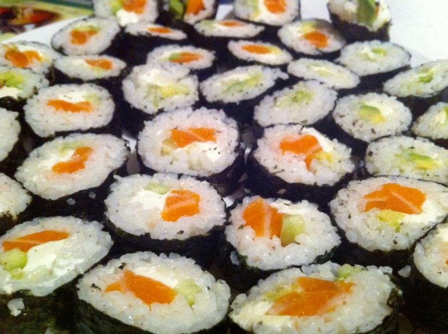 Etta made sushi 3rdarm