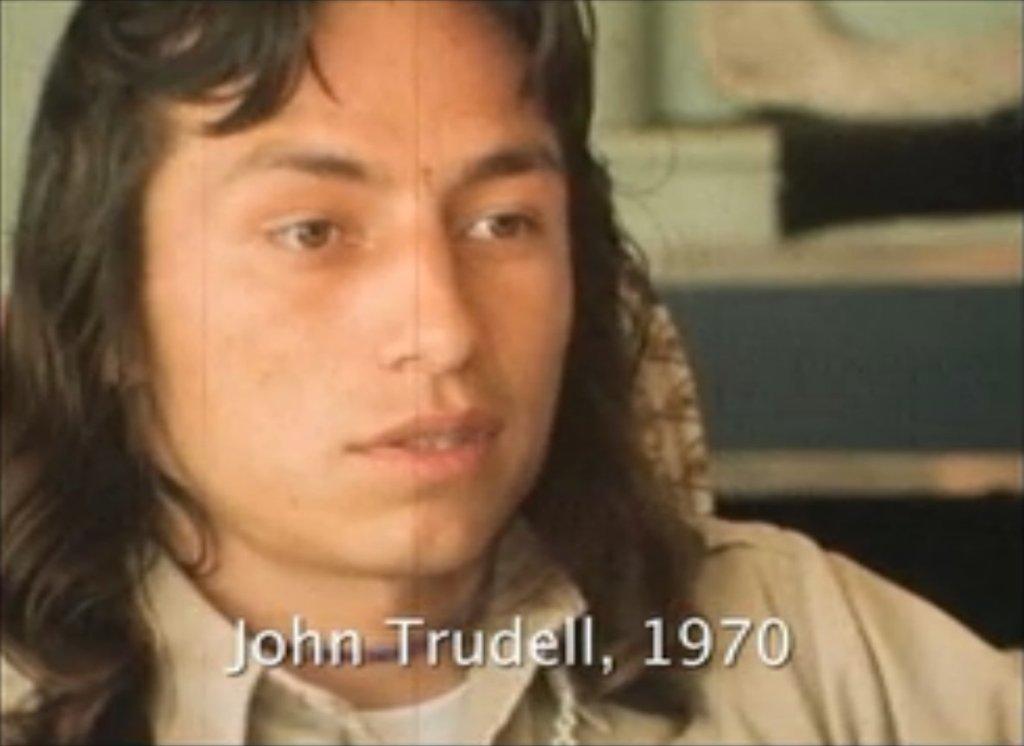 John Trudell 1970 3rdarm