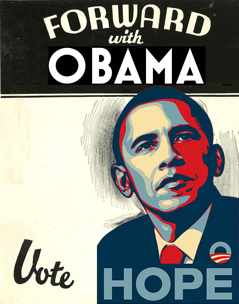Forward with Obama 3rdarm