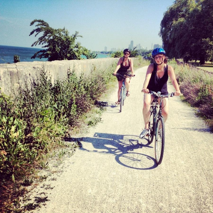 Riding bikes 3rdarm
