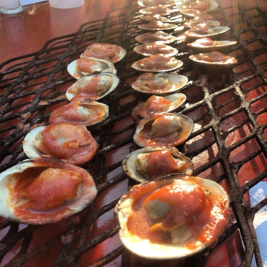 BBQ clams the place 3rdarm guilford Judy blasko