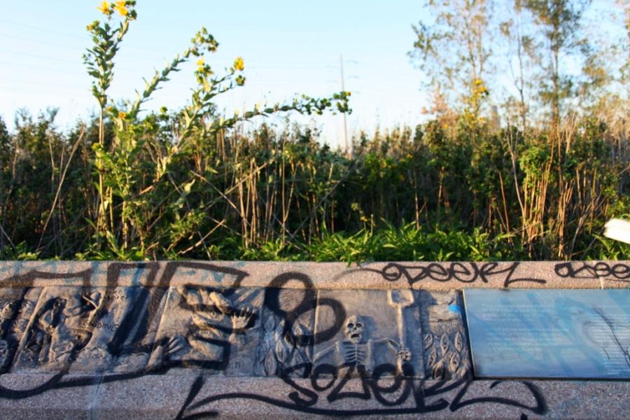 concrete mural canal origins park 3rdarm chicago
