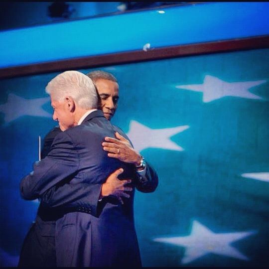 Obama Clinton 2012 bill Barack 3rdarm