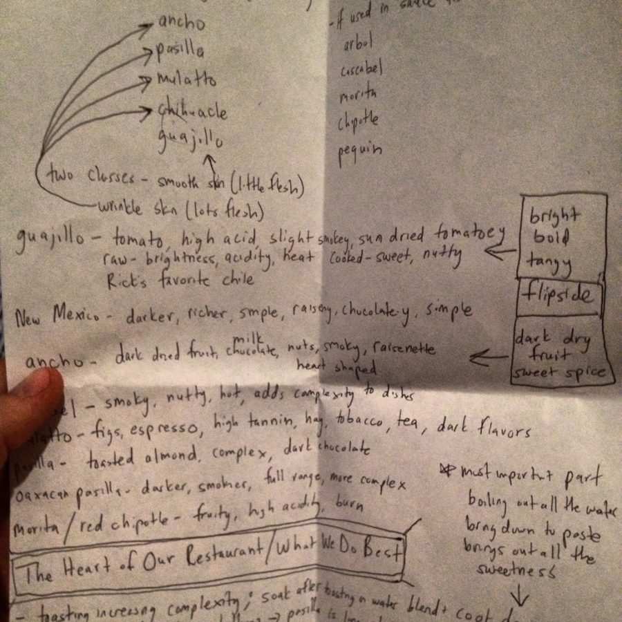 chile meeting notes frontera grill 3rdarm