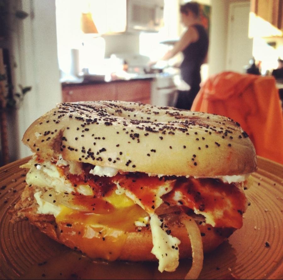 Ooey gooey egg sandwich Etta 3rdarm