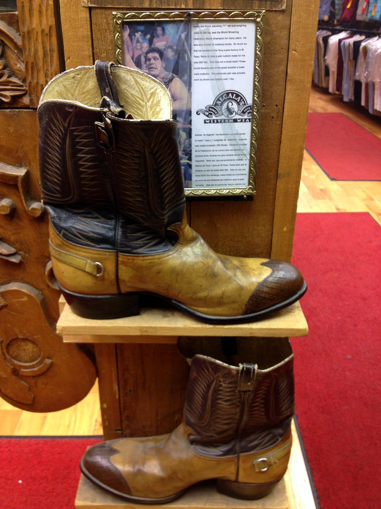 andre the giants boots alcalas western wear chicago 3rdarm