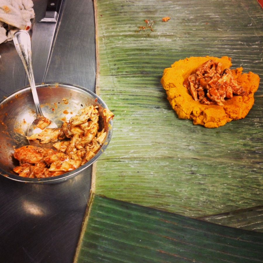 chicken tamal experiment 3rdarm xoco