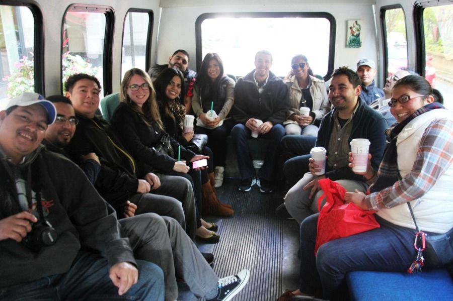 chicago brew bus frontera grill group 3rdarm 5 rabbit brewery tour