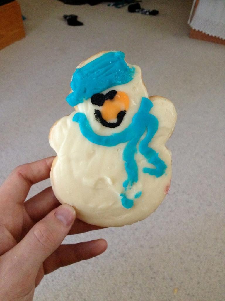snowman cookie coco washburn 3rdarm