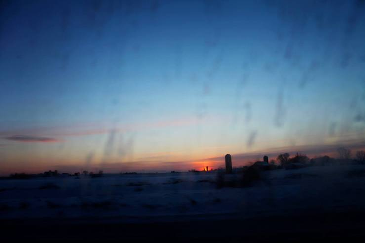 wisconsin highway sunset 3rdarm