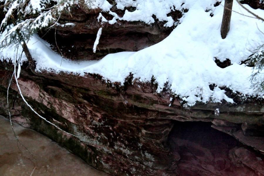 limestone houghton falls winter 3rdarm