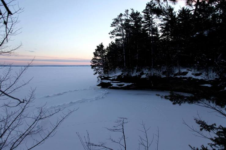 houghton point lake superior winter 2014 3rdarm