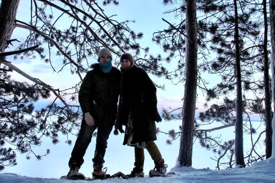 etta arthur lake superior winter 3rdarm
