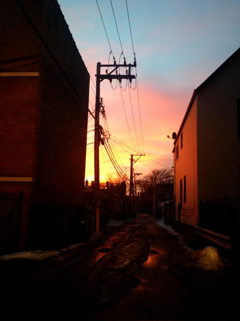 chicago alley sunset 3rdarm