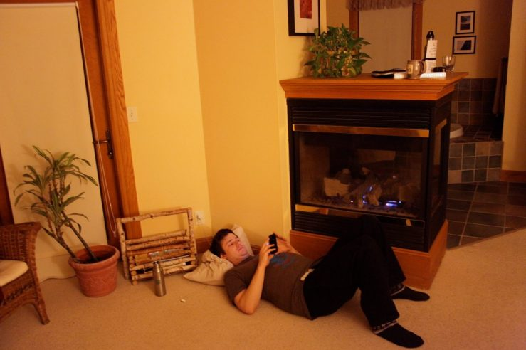 fireplace reading 3rdarm bayfield pinehurst inn wisconsin