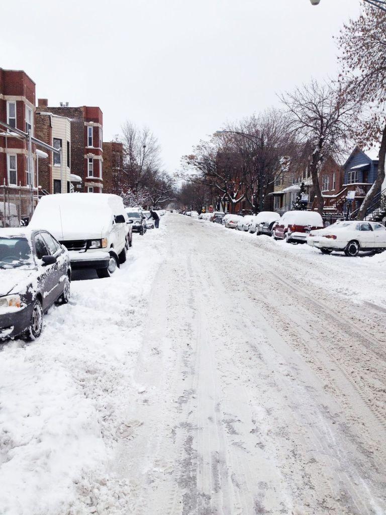 erie street polar vortex chicago 2014 3rdarm