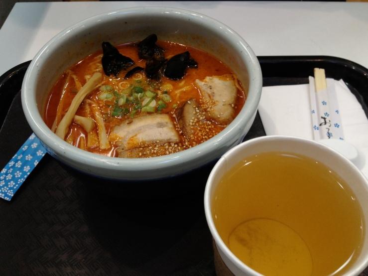 ramen green tea pork belly mitsuwa 3rdarm chicago