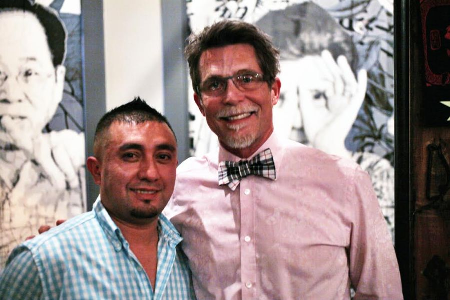 rick bayless alonso sotelo 3rdarm xoco chicago fat rice manager dinner