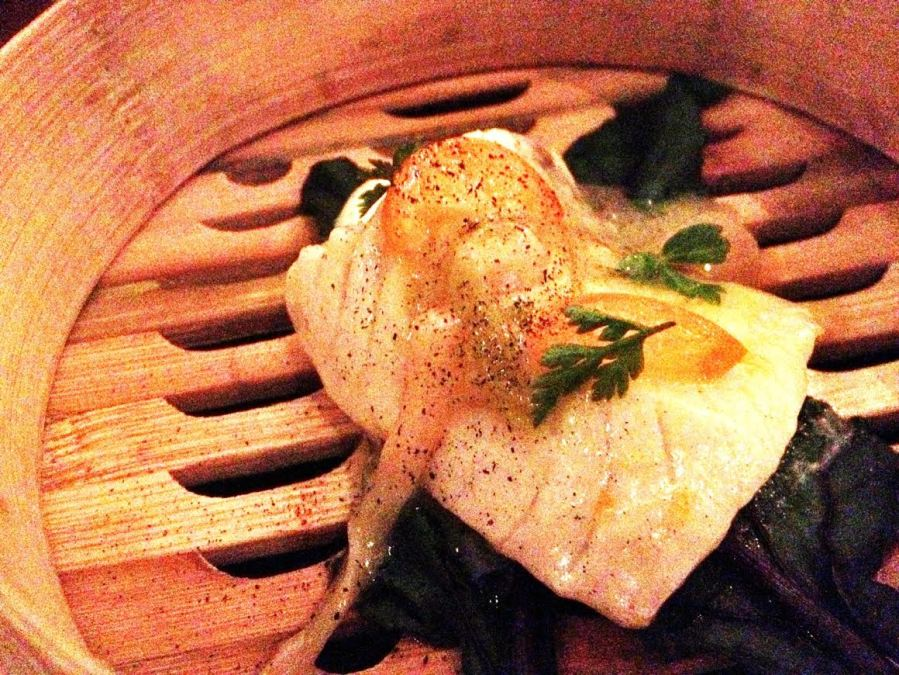 poached black cod 3rdarm chicago lula cafe monday farm dinner