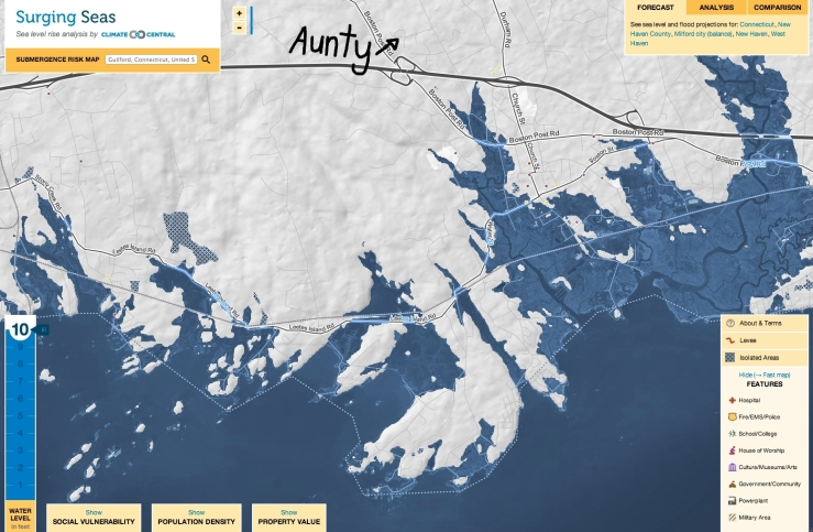 guilford climate change flood sea level surge post ice sheet collapse antarctica 3rdarm