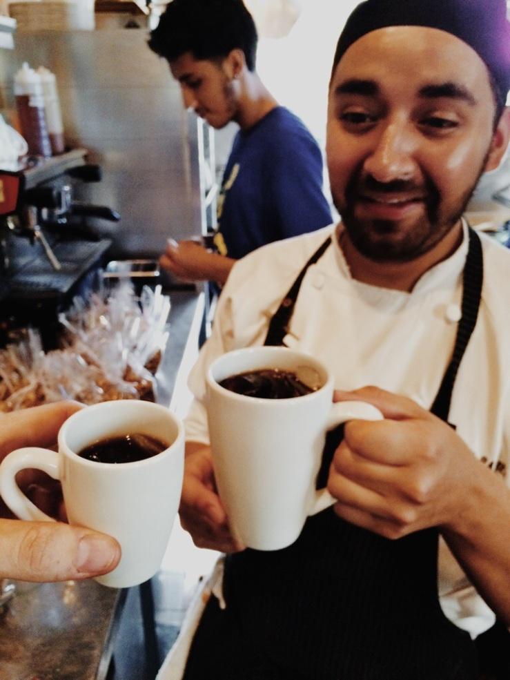 chef joel el diablo cold brew coffee xoco 3rdarm lobo