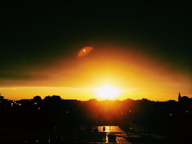 weird summer sunset chicago late summer 3rdarm