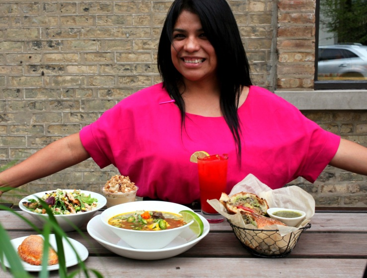 Nayeli Garcia xoco Chicago restaurant 3rdarm seasonal menu patio