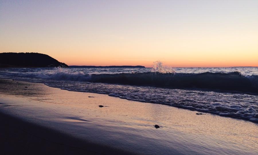 vans beach leland michigan best sunset leelanau peninsula 3rdarm arthur mullen etta kostick purple beach