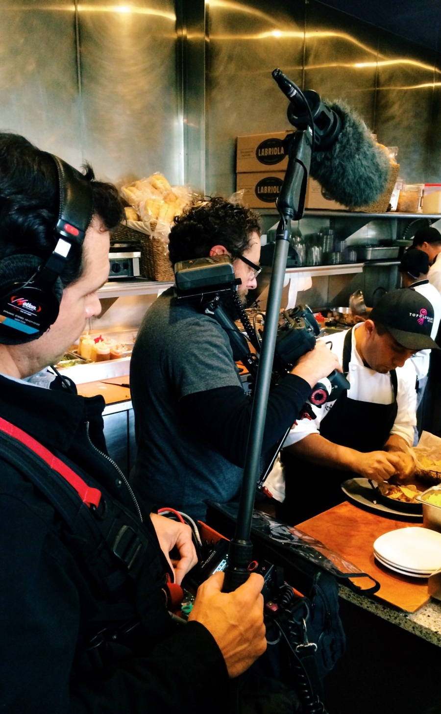 Xoco Chicago chef Alonso alfonso sotelo day of gluttony filming new tv show