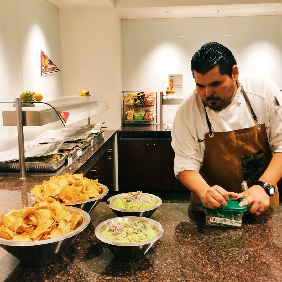 Xoco 3rdarm chef Andres Padilla Topolobampo office catering