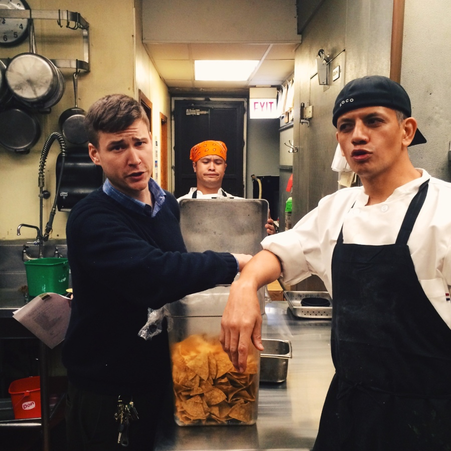 mario chef wilfredo bravo xoco arthur mullen manager nick oven wood burning torta frontera grill 3rdarm