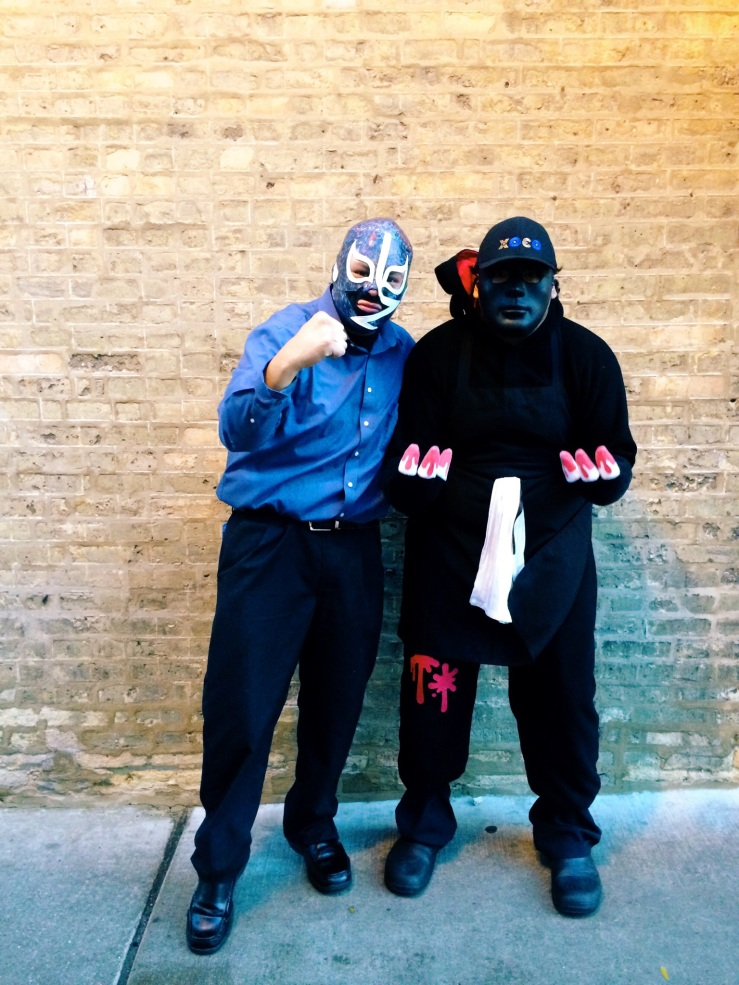 Jonathan Rodriguez Ramon Flores xoco Chicago Halloween dia de Muertos 3rdarm