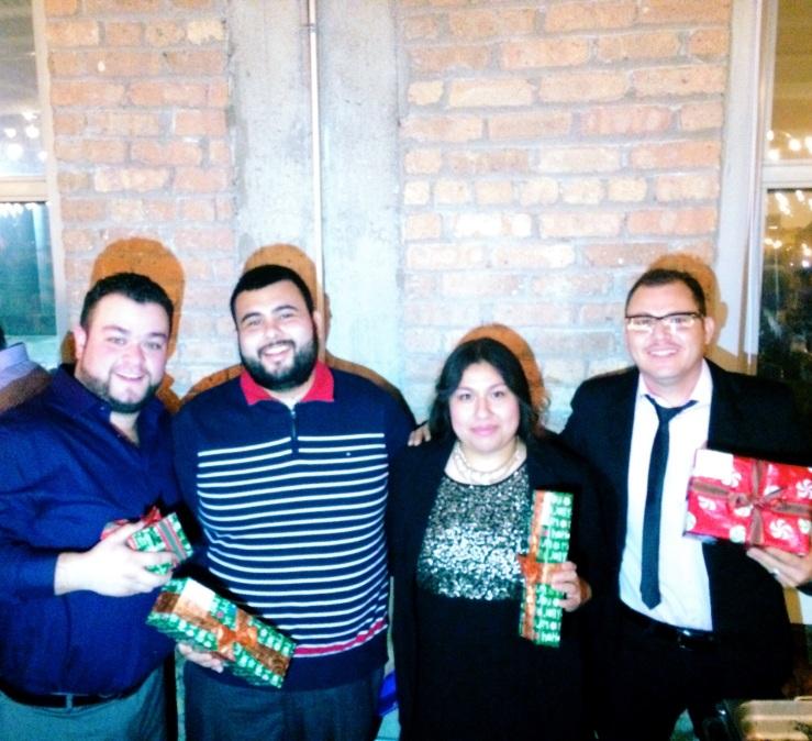 frontera grill xoco 3rdarm holiday party baker Maria Pacheco Cotorra Peligro oropeza Ismael labra Tony fematt