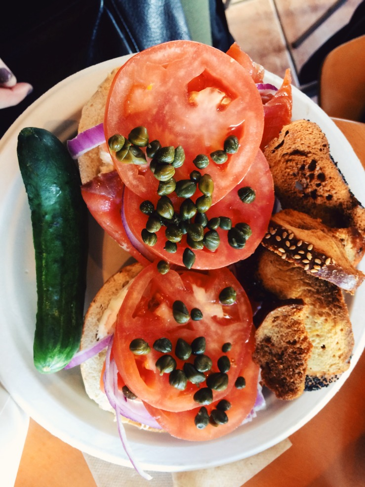 cohens bagel company madison connecticut lox onion 3rdarm