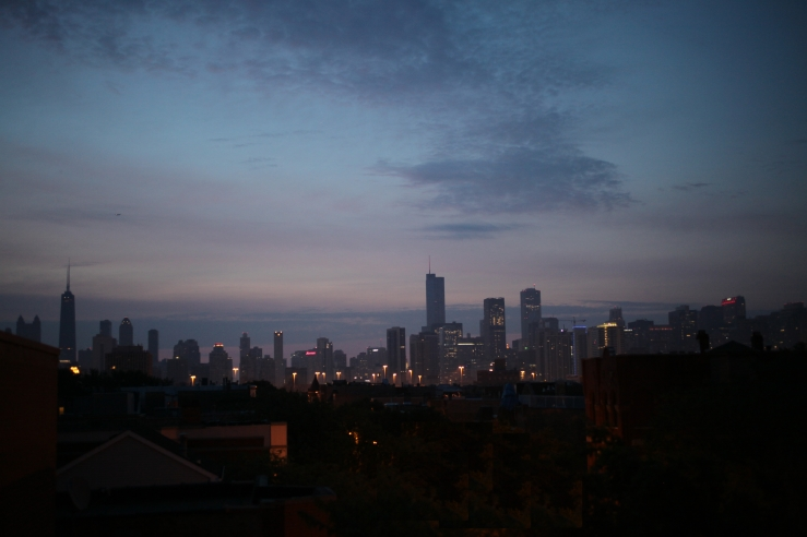 arthur mullen west town noble square chicago sunrise full moon rooftop 3rdarm