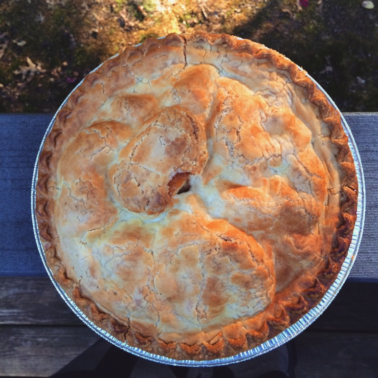 bishops orchard guilford farm connecticut james beard wine trail 3rdarm arthur mullen apple coffee cake apple pie cider