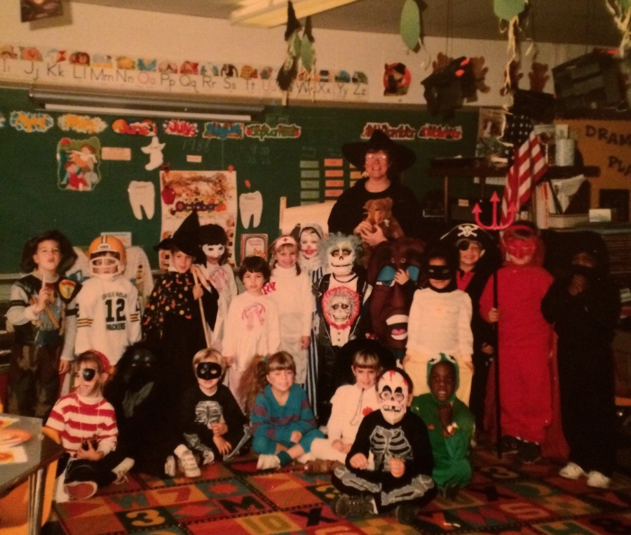 arthur mullen helen blasko happy pinky katharine mullen south windsor connecticut ct halloween 1988 philip r smith elementary school kindergarten mrs foster 3rdarm