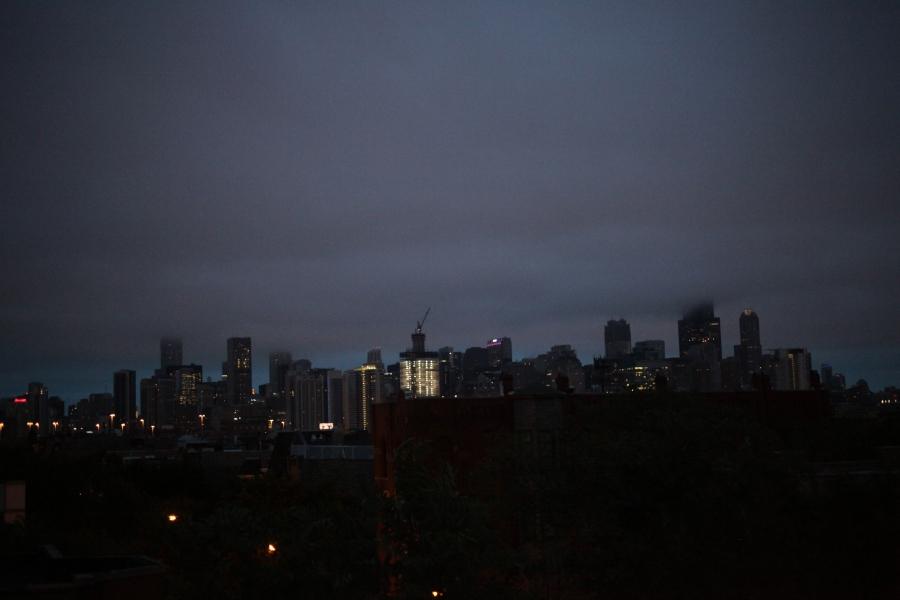 chicago dawn october 2015 overcast skyline arthur mullen 3rdarm